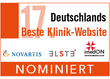 Award Deutschlands Beste Klinik-Website